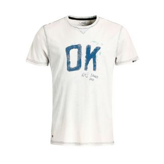 Khujo RUGBY OK T-Shirt Herren weiß-blau