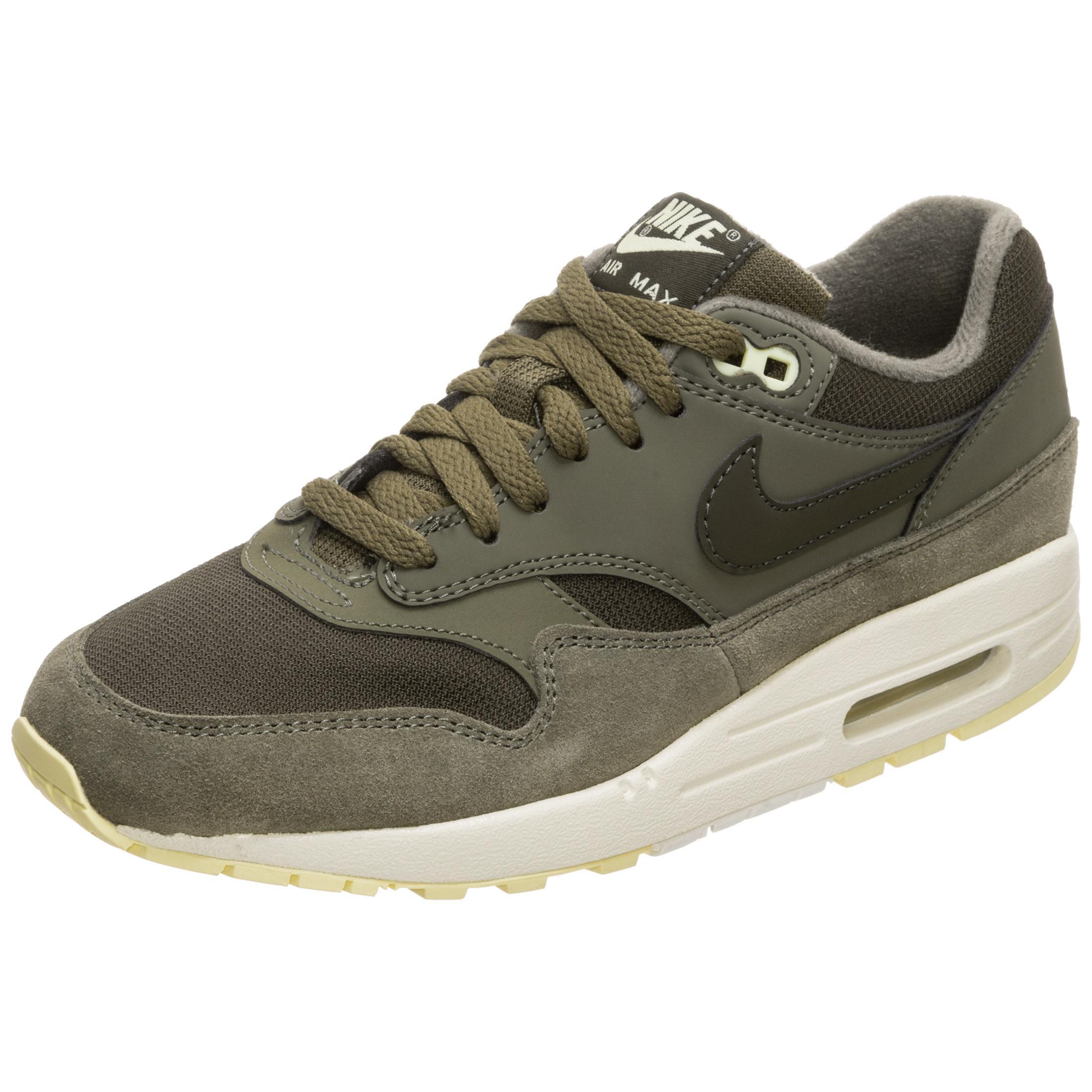 Nike Air Max 1 Sneaker Damen grün / beige im Online Shop von SportScheck  kaufen