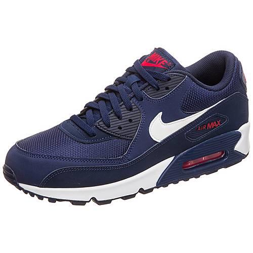 Nike Air Max 90 Essential Sneaker Damen blau / rot im Online Shop von SportScheck kaufen