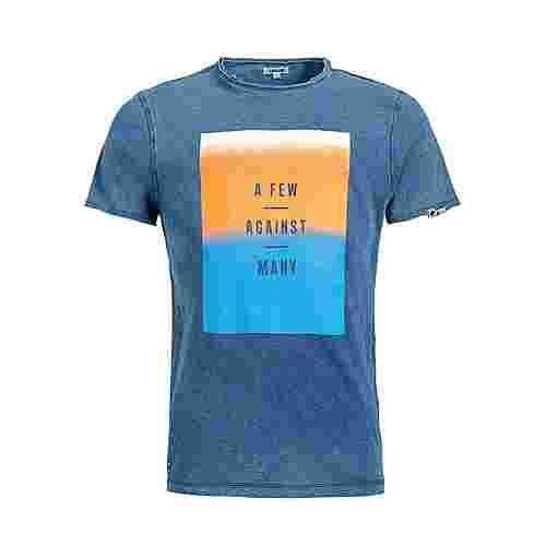 Khujo RUGBY OMBRE T-Shirt Herren blau