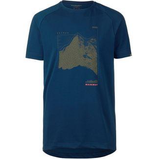 Mammut Mountain T-Shirt Herren poseidon PRT1