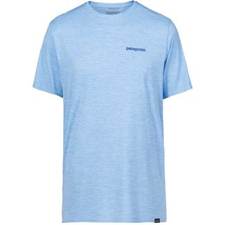 Patagonia CAP COOL DAILY GRAPHIC Funktionsshirt Herren boardshort logo- break up blue