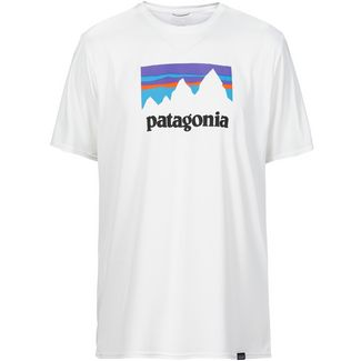 Patagonia CAP COOL DAILY GRAPHIC Funktionsshirt Herren shop sticker- white