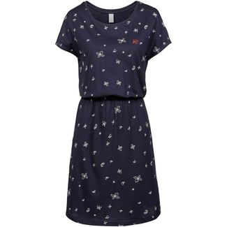 iriedaily Fly Different Jerseykleid Damen navy