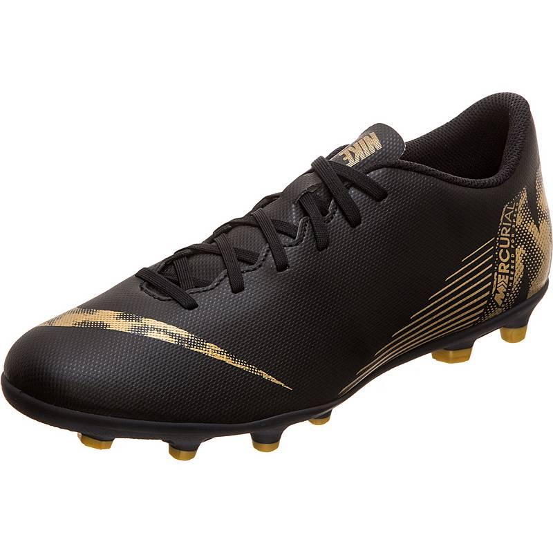 best sneakers c24de 54073 ... best nike mercurial vapor xii club fußballschuhe herren schwarz gold  83309 e6386