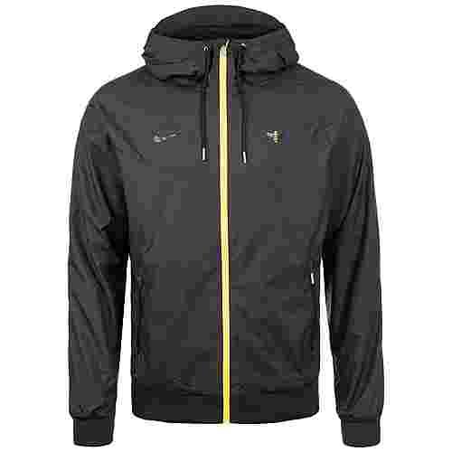 Nike Manchester City Windrunner Trainingsjacke Herren schwarz / gelb