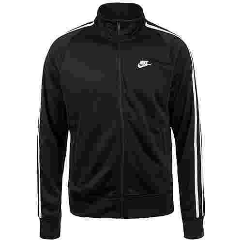 Nike N98 Tribute Sweatjacke Herren schwarz / weiß