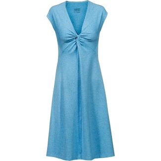 Patagonia SEABROOK BANDHA Kurzarmkleid Damen break up blue