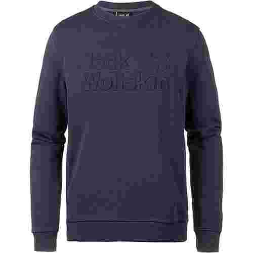 Jack Wolfskin LOGO Sweatshirt Herren night blue