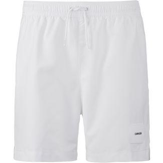 Calvin Klein CORE SOLIDS Badeshorts Herren white