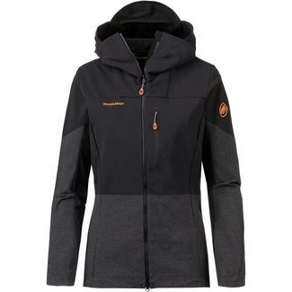 Mammut EIGER EXTREME EISFELD LIGHT Softshelljacke Damen black