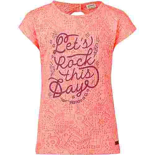Protest Ellis T-Shirt Kinder coral blaze