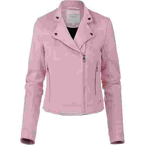 TOM TAILOR Bikerjacke Damen soft pink