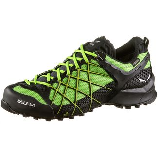 SALEWA WILDFIRE GTX® Wanderschuhe Herren black out-fluo yellow
