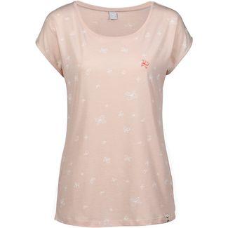 iriedaily Fly Different T-Shirt Damen rosa