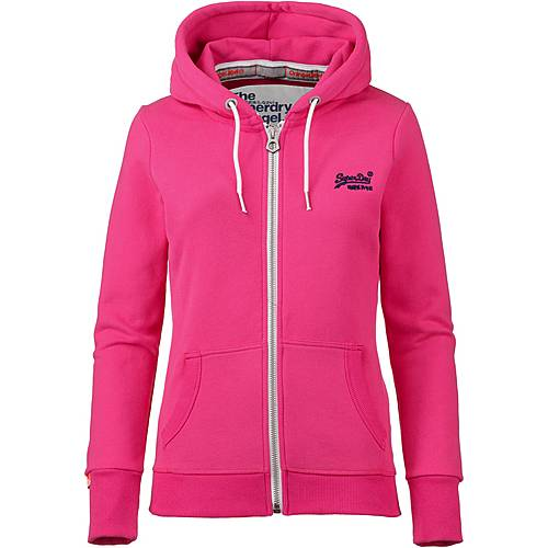 uk availability daa8b 2a283 Superdry Orange Label Sweatjacke Damen ruby pink im Online Shop von  SportScheck kaufen