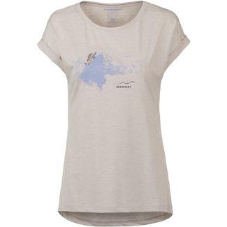 Mammut T-Shirt Damen bright white melange PRT1