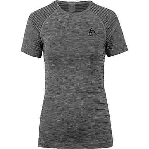 Odlo Performance Light Funktionsshirt Damen grey melange
