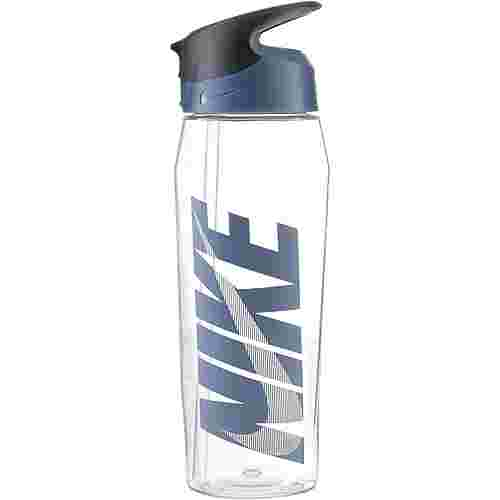 Nike Hypercharge 946 ml Trinkflasche clear-thunderstorm-cool grey-thunderstorm