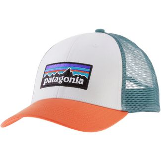 Patagonia Cap Herren white w-sunset orange