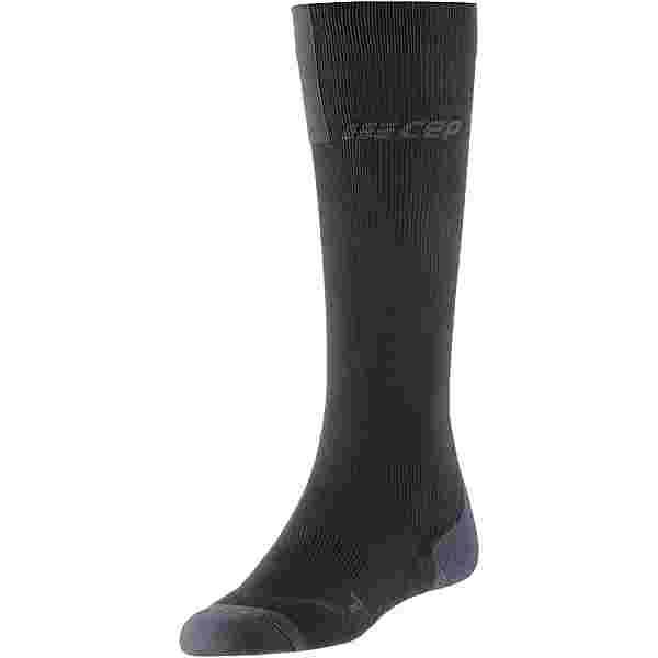 CEP Run Compression Socks 3.0 Kompressionsstrümpfe Damen black-dark grey
