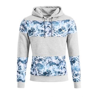 Khujo WHISPER Sweatshirt Herren grau-blau