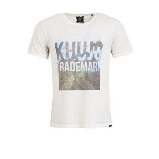 Khujo TYRONE T-Shirt Herren offwhite