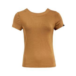 Khujo MOMOKO T-Shirt Damen hellbraun