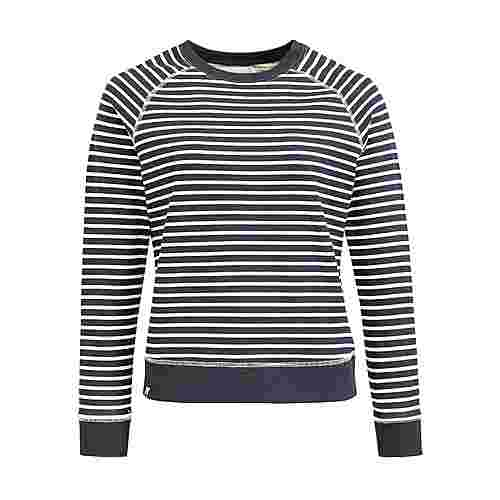 Khujo DARINKA WITH EMBRO Sweatshirt Damen blau