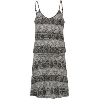 Lascana Trägerkleid Damen schwarz-weiß