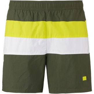 Boss Filefish Badeshorts Herren open green