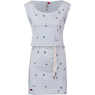 Ragwear Tammy Birds Jerseykleid Damen light blue