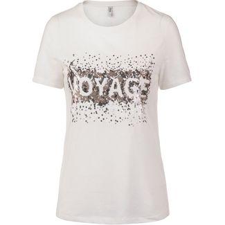 Only onlLINA T-Shirt Damen cloud dancer