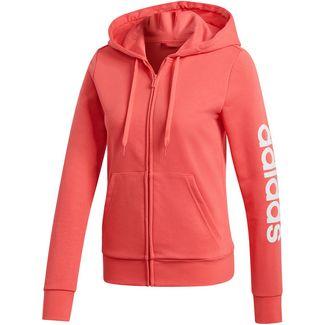 adidas Linear Sweatjacke Damen prism pink