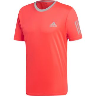 adidas CLUB 3STR Funktionsshirt Herren shock red