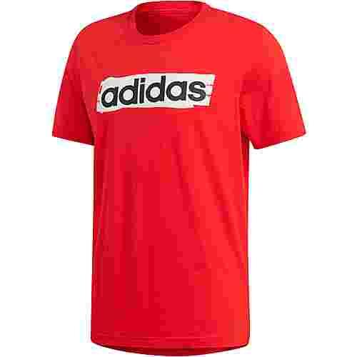 adidas E Lin T-Shirt Herren active red
