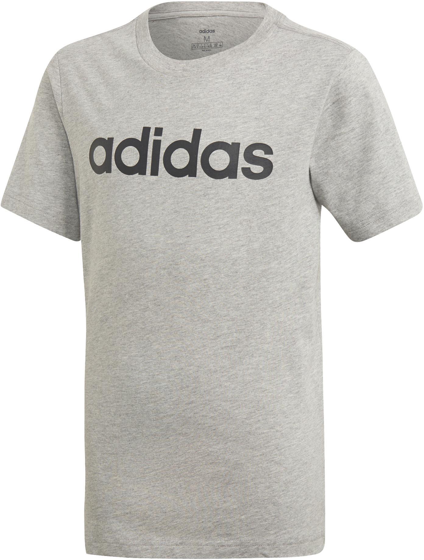 adidas Essentials 3 Stripes Tights Jungen grau pink im Online Shop von SportScheck kaufen