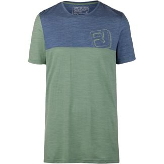 ORTOVOX 150 COOL LOGO Funktionsshirt Herren green isar blend