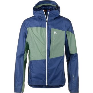 ORTOVOX MERINO Windbreaker Herren night blue