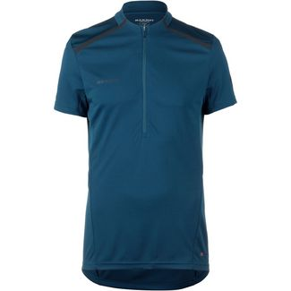 Mammut Atacazo Light Zip T-Shirt Herren poseidon