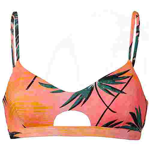 Billabong Palm Daze Crop Tank Bikini Oberteil Damen coral bay