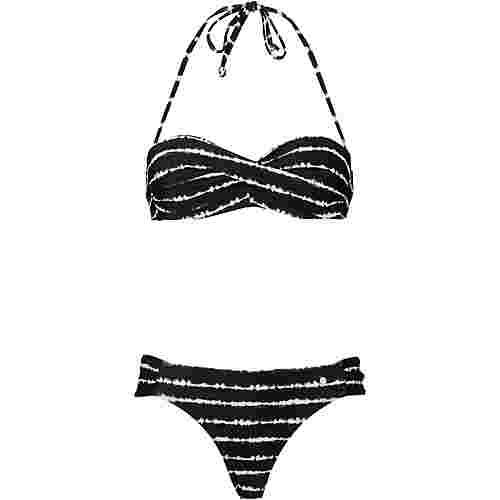 S.OLIVER Bikini Set Damen schwarz
