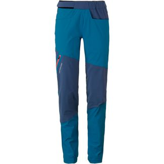 ORTOVOX VAJOLET Merino Funktionshose Damen blue sea