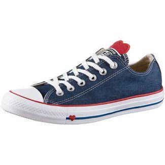 CONVERSE CTAS OX Sneaker Damen indigo-enamel-red