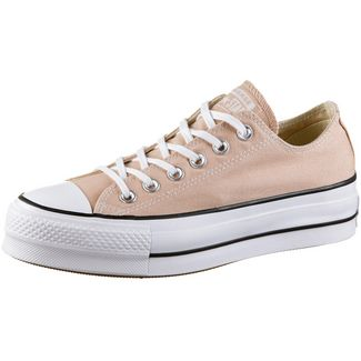 CONVERSE CTAS Lift OX Sneaker Damen particle beige-white-black