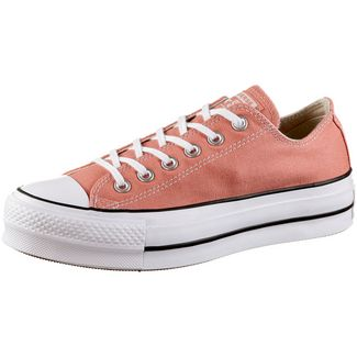 CONVERSE CTAS Lift OX Sneaker Damen desert peach-white-black