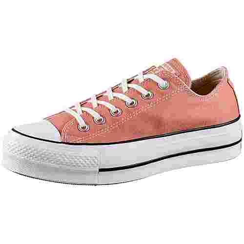 CONVERSE CTAS Lift OX Sneaker Damen desert peach-white-black