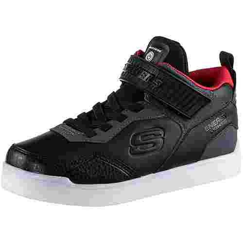 Skechers Energy Lights Sneaker Kinder black