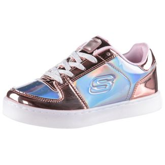Skechers Energy Lights Sneaker Kinder gold