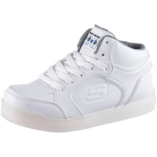 Skechers Energy Lights Sneaker Kinder white